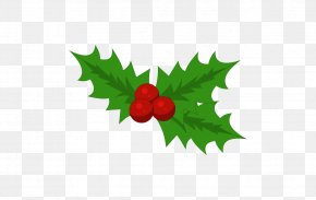 Booking - Christmas Common Holly Holiday Clip Art PNG