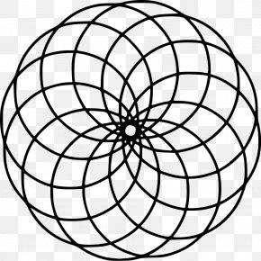 Coloring - Mandala Circle Coloring Book Culture Geometry PNG