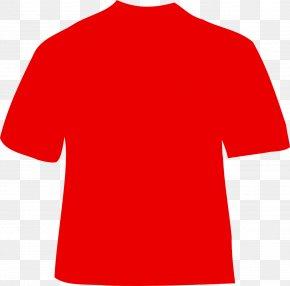 T-shirt - T-shirt Red Polo Shirt Clip Art PNG