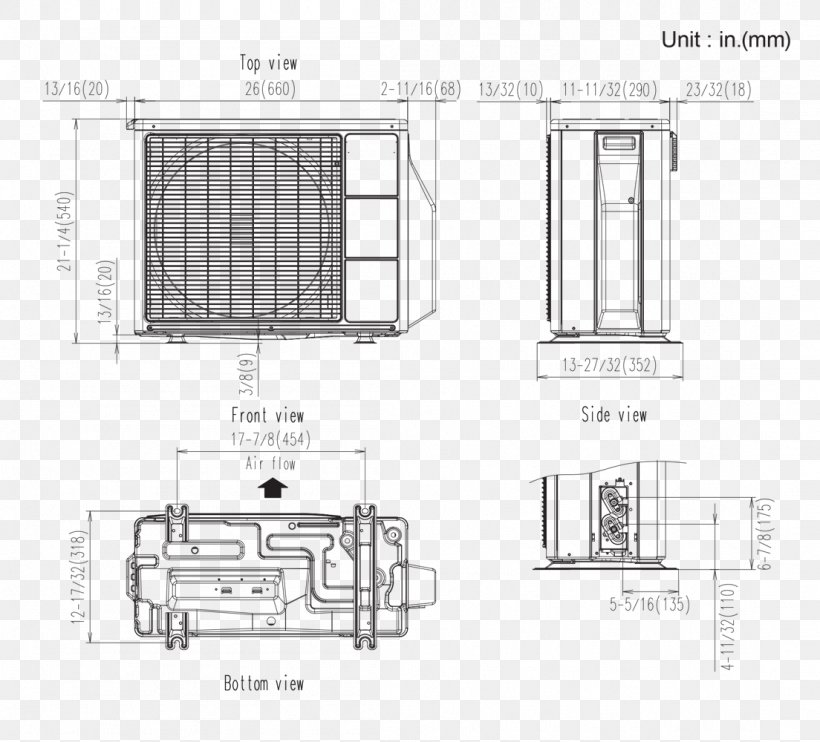 wiring diagram hvac floor plan air conditioning room png