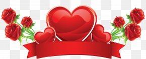 Valentine's Day - Valentine's Day Birthday Love Clip Art PNG