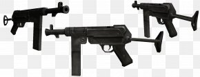 Machine Gun - Firearm Submachine Gun Weapon Pistol PNG