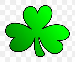 Trinity Shamrock Cliparts - Shamrock Saint Patricks Day Clip Art PNG