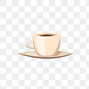 Coffee Cup Style - Espresso Ristretto White Coffee Coffee Cup PNG