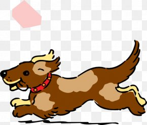 Moving Running Cliparts - Dog Puppy Clip Art PNG