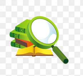 Creative Books - Magnifying Glass Computer Program Software Information PNG