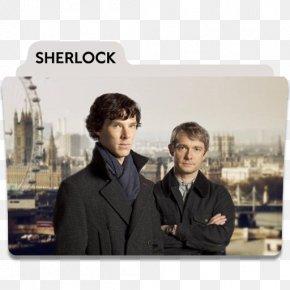 Sherlock - Sherlock Holmes Doctor Watson YouTube Professor Moriarty Television Show PNG