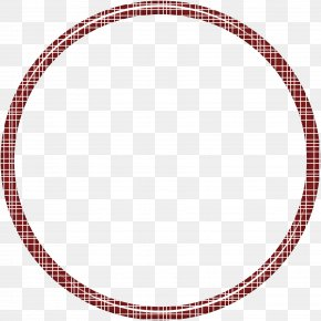 Red Creative Ring - Red Circle Pattern PNG