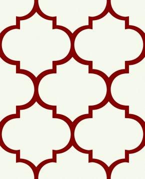 Quatrefoil Shape Cliparts - Textile Spoonflower Cotton Color Gift Wrapping PNG