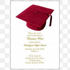 Graduation İNVİTATİON - Wedding Invitation Graduation Ceremony Party Convite Square Academic Cap PNG