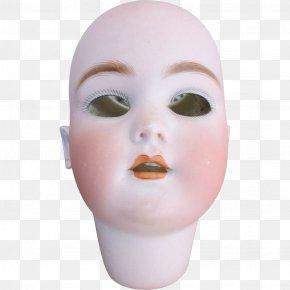 Doll - Face Cheek Chin Eyebrow Forehead PNG