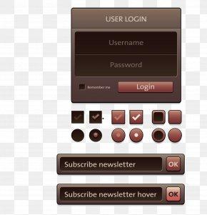 Dark Web Design Navigation - Web Design Web Page World Wide Web PNG