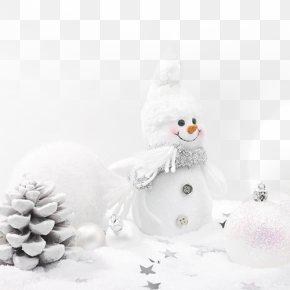 Christmas Snowman - Snowman Christmas Theme Display Resolution Wallpaper PNG