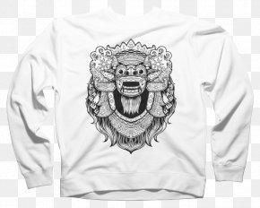 T-shirt - Barong T-shirt Rangda Bali Mask PNG