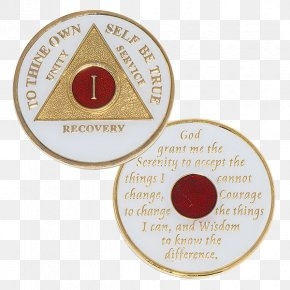 Medal - Choices Books & Gift Shop Sobriety Coin Medal Alcoholics Anonymous Bill W. And Dr. Bob PNG
