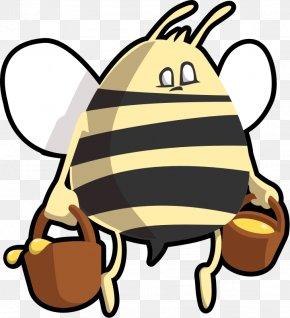 Honey Bee Illustration - Honey Bee Beehive Bumblebee Clip Art PNG