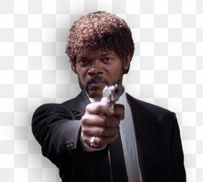 Samuel L Jackson Photo - Quentin Tarantino Pulp Fiction Jules Winnfield Mia Wallace Vincent Vega PNG