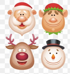 Santa Claus - Rudolph The Red-Nosed Reindeer Santa Claus Christmas Elf PNG
