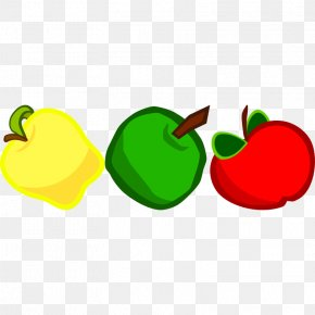 Cartoon Pictures Of Apples - Apple Cartoon Clip Art PNG