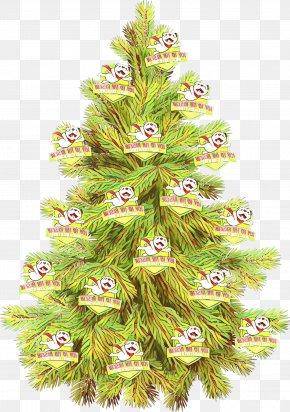 Leaf Pine - Christmas Tree PNG