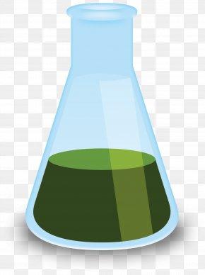 Beaker - Chemistry Green Liquid PNG