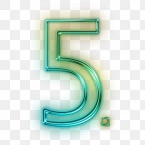 5 Senses Clip Art - Number Clip Art Image PNG
