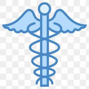 Golden Medical Symbol - Staff Of Hermes Medicine Rod Of Asclepius Health Clip Art PNG