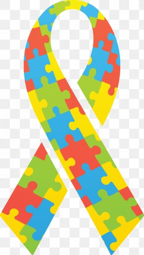Autism Ribbon Spectrum - Autistic Spectrum Disorders World Autism Awareness Day Vector Graphics Jigsaw Puzzles PNG