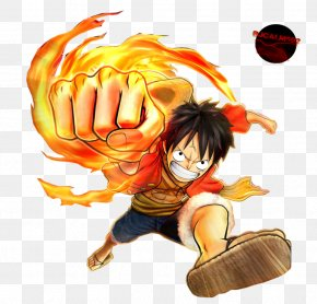 LUFFY - One Piece: Pirate Warriors 2 Monkey D. Luffy Roronoa Zoro Usopp Nami PNG