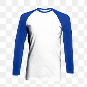 T-shirt - Long-sleeved T-shirt Raglan Sleeve PNG