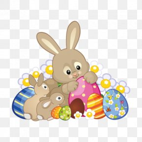 Cute Rabbit - Easter Bunny Hare Domestic Rabbit Clip Art PNG