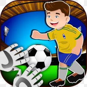 Soccer Goalkeeper - Boy Human Behavior Football Clip Art PNG