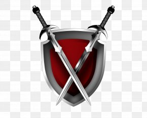 Shield - Shield Sword Clip Art Image Knight PNG