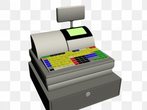 Multi Color Keyboard Cash Register - Computer Keyboard Cash Register Color Money PNG