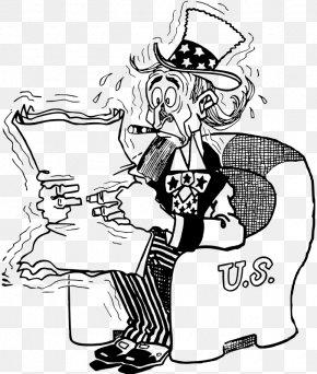 United States - United States Uncle Sam Nervous System Clip Art PNG