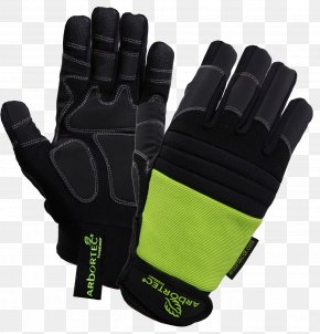 Sport Gloves Image - Cut-resistant Gloves Chainsaw Safety Clothing Leather Cuff PNG