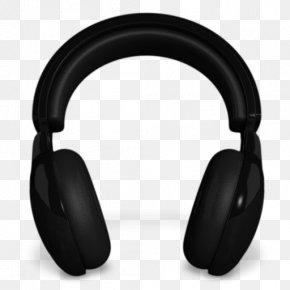Black Headphones - Headset Desktop Environment Headphones Icon PNG