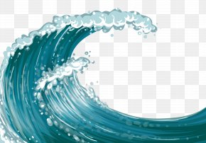 Sea Wave Clipart - Wind Wave Sea Dispersion PNG