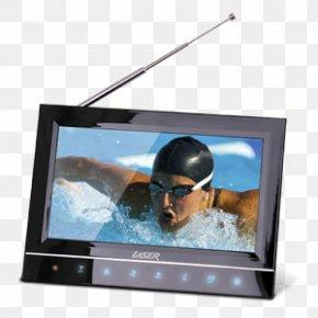 Handheld Television - LCD Television Portable DVD Player Television Set Digital Television PNG