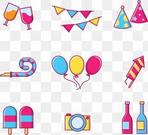 Party Decoration Tools - Download Clip Art PNG