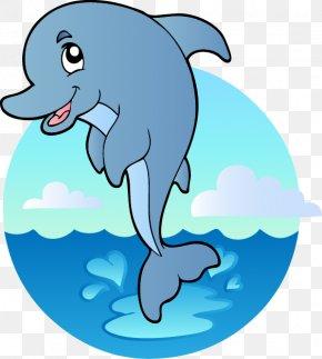 Cartoon Marine Animals - Underwater Aquatic Animal Deep Sea Creature Ocean Clip Art PNG