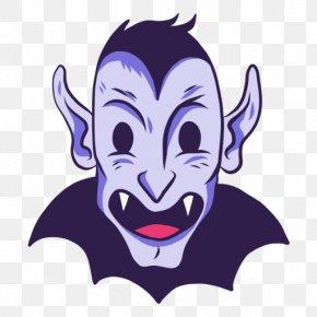 Drakula Silhouette - Dracula Vampire Illustration PNG