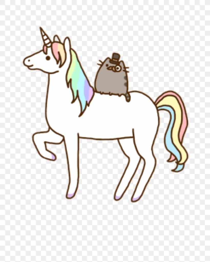 Pusheen Cat Unicorn Desktop Wallpaper