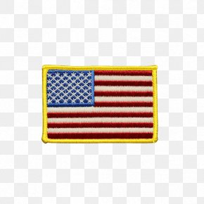 Flag Patch - Flag Of The United States Embroidered Patch Lapel Pin PNG