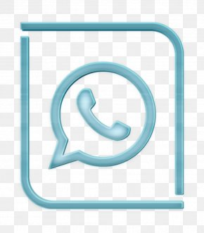 Symbol Turquoise - Logo Icon Whatsapp Icon PNG