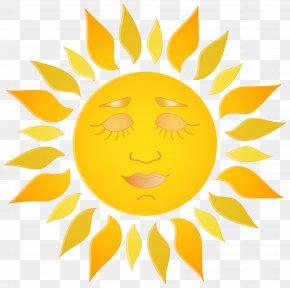 Sun Clip Art Image - Smiley Clip Art PNG