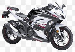 Kawasaki Ninja White Motorcycle Bike - Kawasaki Ninja 300 Motorcycle Fairing Sport Bike Kawasaki Motorcycles PNG