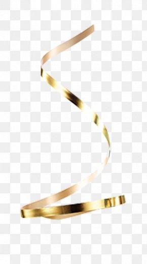 Gold Ribbon - Ribbon Gold Icon PNG