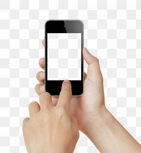Touch - IPhone Touchscreen Smartphone Handheld Devices Stock Photography PNG