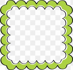 Green Border Frame File - Picture Frame Framing Clip Art PNG
